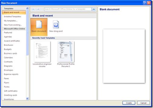 Download free resume templates